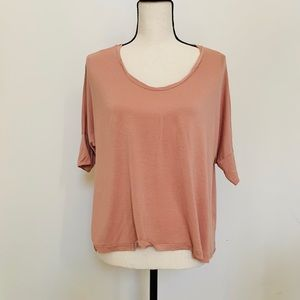 J. Crew | Terra Cotta Colored Tee